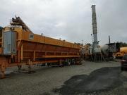 Mobile asphalt plant AMMANN MEC 160