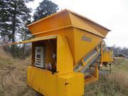 Mobile concrete plant Fibo Intercon C 15-1200