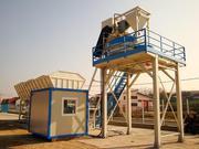 Stationary concrete plant Sumab 60 ECONOMY CLASS.